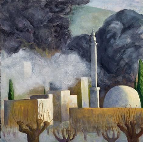 Paci Hammond painting, 'Kobani '