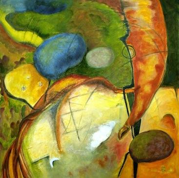 Paci Hammond Paintings — The Path