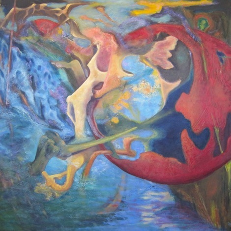 Paci Hammond Paintings — Tyson's path