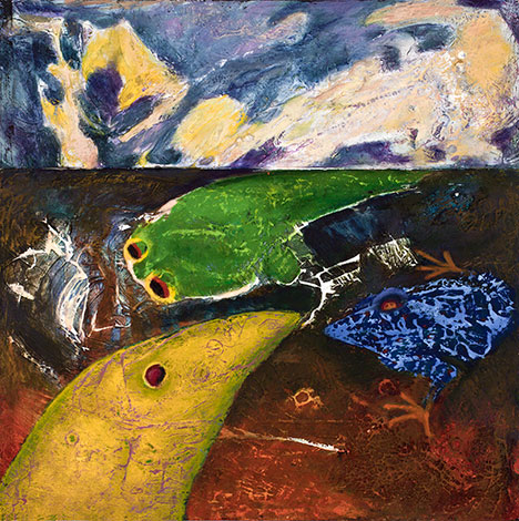 Paci Hammond Painting- Approximate Amphibians'
