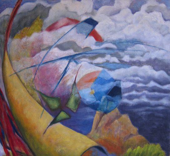 Paci Hammond Paintings — Kites