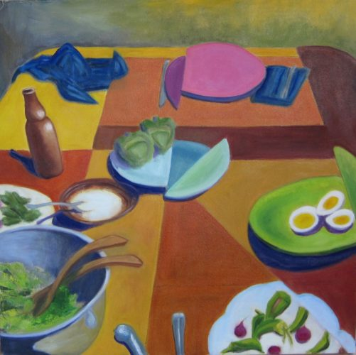 Paci Hammond Paintings-Table 1